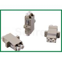 LC/UPC Multimode Duplex Fiber Optic Adaptor / Male To Male Adapter Manufactures
