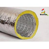 Quality Fiberglass Insulated Flexible Ducting for Air Conditioning System Customized for sale