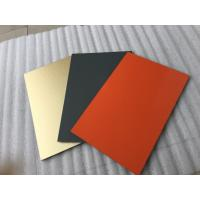 White Polyester Paint Aluminum Sandwich Panel Anti - Toxicity With 4mm Thickness Manufactures