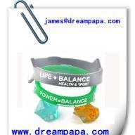Quality Silicone Bangle for sale