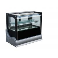 China Bakery Store Cake Display Freezer  / Bread Sandwich Showcase Chiller Cabinet Upright Vertical Curved on sale