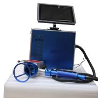 Small Size Blue Color Metal Marking Machine , Handy Laser Marking Machine Manufactures