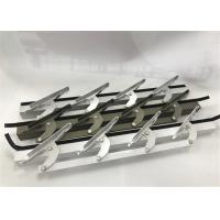 6 Inch Length Machining Aluminum Parts / Window Louvers WIth Punching Manufactures