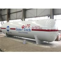 40 CBM LPG Storage Tanks 40HQ Container Loading 20 Tons LPG Mobile Tank Manufactures