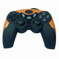 China PC USB Vibration Joypad, Plug-and-Play, Optical Colors are Available on sale