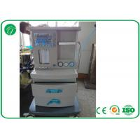 5 Tubes Flow Meter Mobile Anesthesia Machine , Anesthesia Gas Machine Oxygen Probe Manufactures