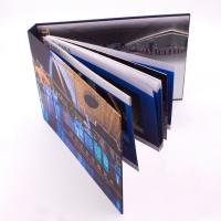 Professional Printing Full Color Brochures Hardcover Book With SPOT UV