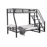 China Durable Childrens Metal Bunk Beds , School Metal Twin Loft Bed With Slide on sale