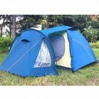 Lightweight hiking 4 person Waterproof Camping Tent with large living room Manufactures