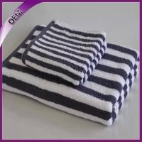 China 100% Cotton Terry Yarn Dyed Stripes Towels on sale