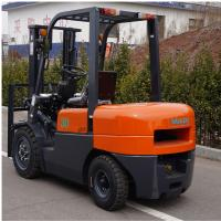 FD30 Diesel Forklift Truck 3000kg Capacity Customized Color 1 Year Warranty Manufactures