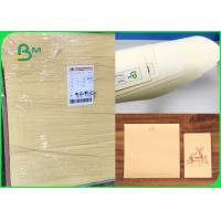 60gsm 70gsm Soft Color Good Writing Performance Cream Paper For Notebook Manufactures