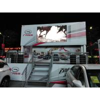 P10 SMD 3535 Commercial Truck Mounted LED Display with Wide Viewing Angle Manufactures