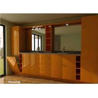 Wood bamboo modern bathroom cabinets vanities satin for Bamboo kitchen cabinets australia
