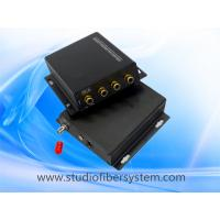 2CH stereo audio fiber converters with RCA interface for 2CH digitally encoded stereo audio to 10~120KM Manufactures