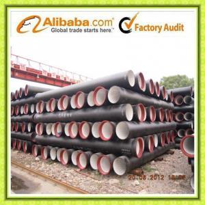 Ductile Iron Pipes - DN 80/2000 - ISO2531 / EN545 / EN598 Manufactures