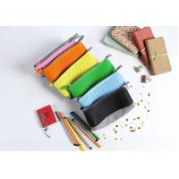 Free sample China factory panel pixel yellow silicone pencil case cheap price Manufactures