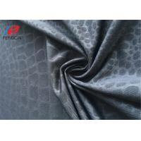 China 90% Polyester 10% Lycra / Spandex Weft Knitted Fabric Printed Jersey Fabric on sale