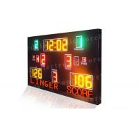 Multi Function LED Basketball Scoreboard High Visibility 1300mm X 2000mm X 100mm Manufactures