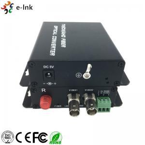 Quality 4-Ch HD-AHD CVI TVI CVBS 4 in 1 Over Fiber Converter  Support 720p/50, 720p/60, 1080p/25, 1080p/30 videos for sale