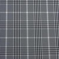 100x100D polyester yarn dyed plaid fabric, used for jackets or suits Manufactures