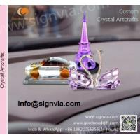 Crystal hot products trophy/crafts/rings CUSTOM Crystal for Advertisement Manufactures