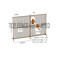 Quality Construction Temp Fence Panels 6ft x 10ft for consntruction security canada for sale