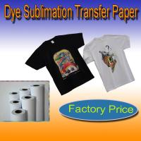 China dark color t-shirt transfer paper 300gsm on sale