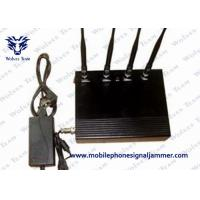 35dBm / 800mW Cell Phone Signal Scrambler , Mobile Phone Jamming Device Dust Resistant Manufactures