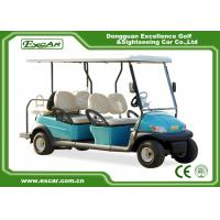 China Trojan battery 6 Seats ADC 48V 3.7KW Electric golf Car cheap golf cart for sale on sale