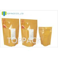 China Yellow PET Aluminum Foil Container 12 x 20CM , VmPET Food Packaging on sale