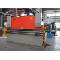 Hign Speed Steel Bending NC Press Brake Machine With Estun E21 NC Control Manufactures