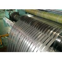 China Grade 201 430 Stainless Steel Metal Strips Width 16 - 70mm For Packing Strap 2B Finish on sale