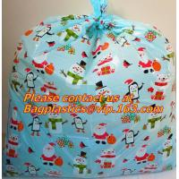 waterproof outdoor road bicycle bags, bicycle gift bags, bike bags, Giant Santa Sack for Christmas Gift Packing Manufactures