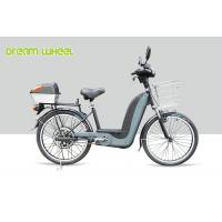 China 25Km - 32Km / H Pedal Assisted Bicycle Electric Bike 24 Inch Wheel 350W Brushless Motor on sale
