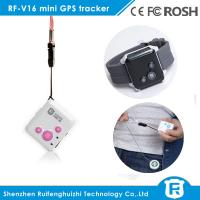 personal gps tracking device for elderly sos button personal gps tracker RF-V16 Manufactures