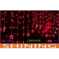 220V 4m LED Curtain Lights 50000h Long Life For Outdoor Decoration Manufactures