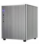 Gorgeous Glossy Aluminum Slim Desktop Case With Grid Strip Heat Dissipation Manufactures