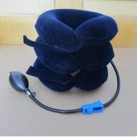 China Inflatable Neck Traction Support Collar Brace Neck Cervical Pain Relief Cushion on sale