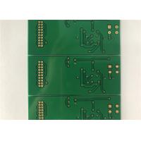 Buy cheap FR4 Double Layer Print Circuit Board Green Soldmask White Silkscreen from wholesalers