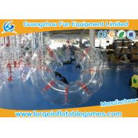 Heat Sealed Transparent Pvc Inflatable Bubble Ball 2 Years Warranty