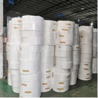 China Recycled Melt Blown Cloth , Pp Melt Blown Filter Non Faded Color Low Resistance on sale