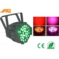 30 x 3W RGB LED Par Can Lights With Zoom Dj Stage Show Lighting Red Green Blue Manufactures