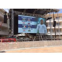 Quality Wide Viewing Distance Perimeter Led Screen , Stadium Led Panel 1/5 Scan Mode for sale