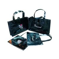 Recyclable Shining Non Woven Carry Bag Logo Personized for Lady Garment Manufactures