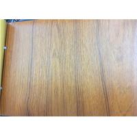 Wood Textured PVC Embossed Lamination Film / Membrane Pressing MDF  Profile Surface Manufactures