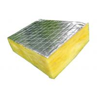 China Aluminum Foil Faced Glass Wool Blanket Non Toxic Construction Acoustic on sale
