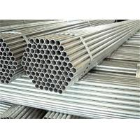 40mm 50mm Structural Steel Pipe Red Color Galvanized Surface Treatment Manufactures