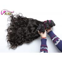 """Black Natural Wave Virgin Brazilian Human Hair Double Weft Hair Extensions Length 8"""" - 40"""" Manufactures"""