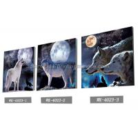 PET Plastic Printing Service / 3D Lenticular Pictures 40x40cm Home Decoration Manufactures
